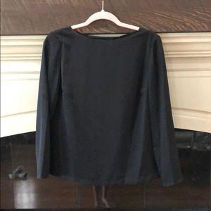 Ralph Lauren Long sleeve black top